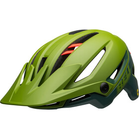 Bell Sixer MIPS Casque, matte/gloss green/infrared